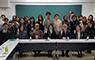 유지수 총장 일본 긴키대학교 방문